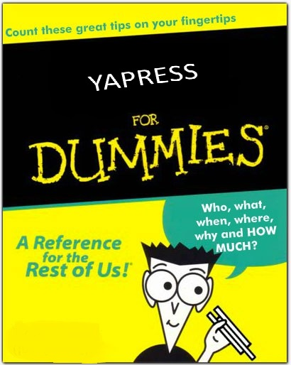 YAPRESS FOR DUMMIES